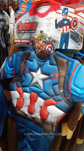 captain america costume spirit halloween teetot childrens role play halloween costume costco weekender