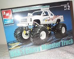 westbury motorsports usa 1 chevrolet monster truck plastic model