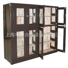 Single Shelf Bookcase Insect Bin Steel And Wood Structure Combination Bookcase Shelf