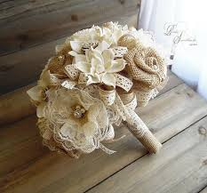 sola flowers ready to ship rustic lace bridal bouquet large sola flowers