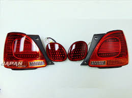 lexus toyota parts lexus gs300 toyota aristo one off custom led tail lights 1998