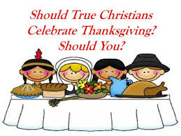 november s study should true christians celebrate thanksgiving