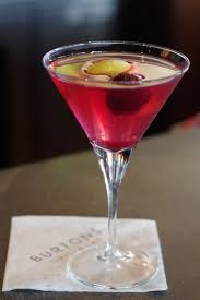 pomegranate martini burtons grill u0026 bar unveils its new beverage program for