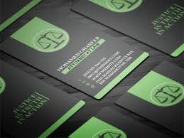 Lawyer Business Card Design Creative Lawyer Business Card 3 On Behance