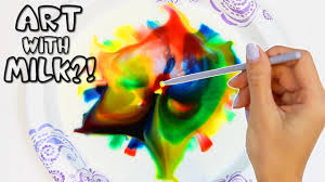 creating art with milk soap u0026 food coloring fun u0026 easy science