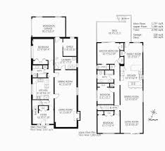 2 floor villa plan design beautiful small modern house plan idea features 2 floors house
