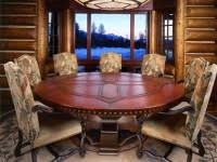 Dining Table Round Dining Table Seats  Pythonet Home Furniture - Round dining room tables seats 8