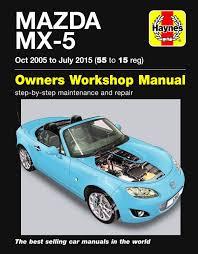 mazda mx 5 owners workshop manual amazon co uk martynn randall
