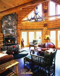 golden eagle log homes log home cabin pictures photos custom great room
