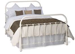 timolin ivory metal bed frame dreams