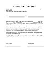 bill of sale form template printable calendar templates