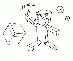 printable minecraft coloring pages coloring