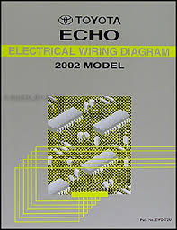 2000 2005 toyota echo body collision repair shop manual original