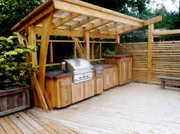Tin Roof Outdoor Kitchen Design Outdoor Kitchen Pergola In Outdoor - Backyard kitchen design