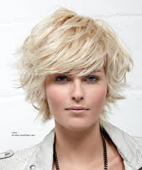 medium hairstyles flipped up feathery short haircut with the ends flipped up and out