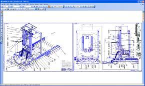 kompas graphic successfully used machine building design civil
