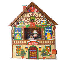 mr musical advent house with 24 mini ornaments page 1
