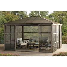 Outdoor Patio Gazebo 12x12 by Gazebos Costco