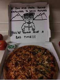 Pizza Delivery Meme - special pizza delivery instructions hilariously fulfilled 21 pics