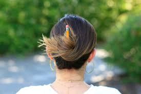3 easy pencil bun ideas back to hairstyles cute girls