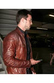 motorcycle biker jacket nicholas hoult motorcycle jacket mens brown leather biker jacket