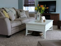 Raymour And Flanigan Coffee Tables Living Room Update Summer Rfbloggers Cozy Country Living