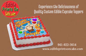 custom edible images experience the deliciousness of quality custom edible cupcake