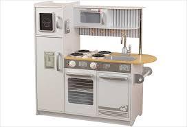 grande cuisine enfant cuisine en bois jouet cuisine kidkraft uptown blanche sur apesanteur