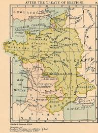 Calais France Map by Map Of France In 1360 Colbeck
