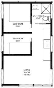 two bedroom cabin floor plans 375 sq ft two bedroom trail cabin