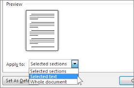 rotate a page to landscape or portrait orientation in word word