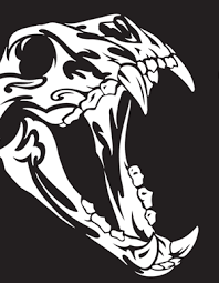 tribal animal skull vectors vector genius