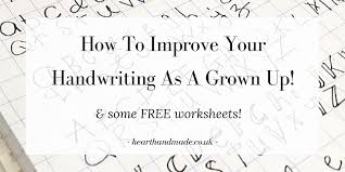 worksheets to improve handwriting worksheets