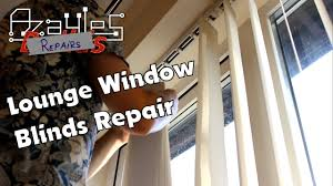 Window Blind Repairs Window Blinds Repair Youtube