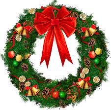 christmas garland clipart free clipartxtras