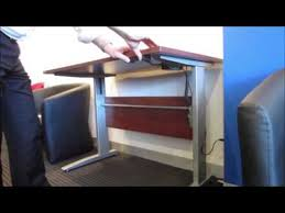 altex 100 electric ergonomic height adjustable office desk