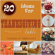 family friendly thanksgiving dinner table