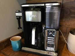 ninja coffee bar clean light keeps coming on ninja coffee bar with frother best coffee maker for the money