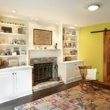 Bookcase Fireplace Designs Living Room Traditional White Custom Built In Bookcases