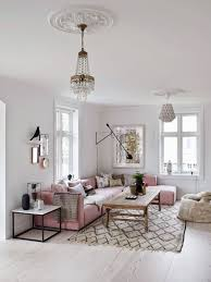 Pink Living Room Ideas The 25 Best Pink Sofa Ideas On Pinterest Blush Grey Copper