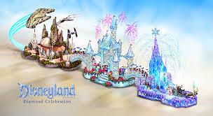 disneyland resort celebration float to dazzle at 2016
