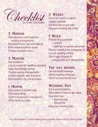 Wedding Day Planner Wedding Checklist U2013 Abilene Wedding Vendors