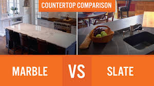 slate countertop marble vs slate countertop comparison youtube