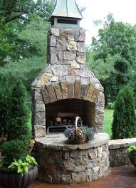 Belgard Brighton Fireplace by Outdoor Fireplaces Projects Hedberg Landscape And Masonry