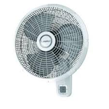 12 inch 3 speed oscillating fan lasko 12 in oscillating wall mount fan 3012 the home depot