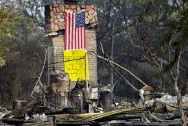 California Wildfire Ranking by California Fires Cause 1b In Damage Burn 7 000 Buildings