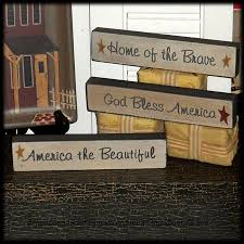 Word Blocks Home Decor 425 Best Holiday Decor Memorial Day U0026 4th Of July Images On