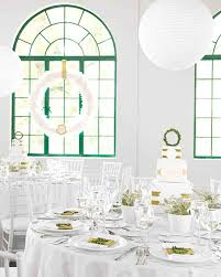 Green Table Gifts by Real Weddings With Green Ideas Martha Stewart Weddings