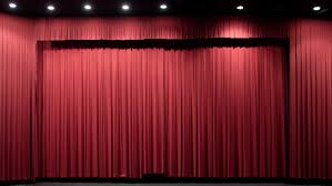 Theater Drape Red Theater Curtain Stock Footage Video Shutterstock