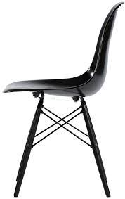 Eames Style Rar Molded Black Eames Style Chair Interior Design